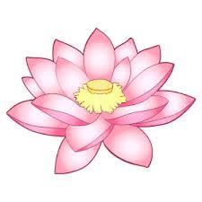 ハスの花のイラスト7 | 花、植物イラスト Flode illustration (フロデ ...