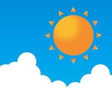 無料イラスト] 晴れの日の空 - パブリックドメインQ:著作権フリー画像 ...