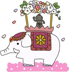 花祭りのイラスト   かわいいフリー素材が無料のイラストレイン