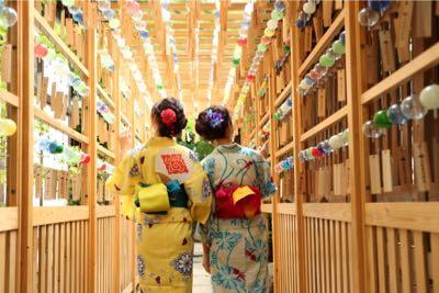 浴衣』のお話し | 氷川会館|川越 氷川神社の結婚式・結婚式場