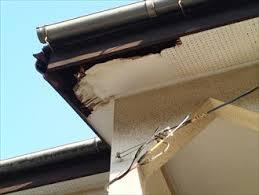 東京都江戸川区|破風板腐食からの軒天腐食へ現場調査