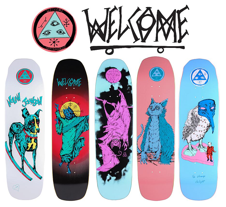 WELCOME SKATEBOARDS !!!   アーリーウープ広場