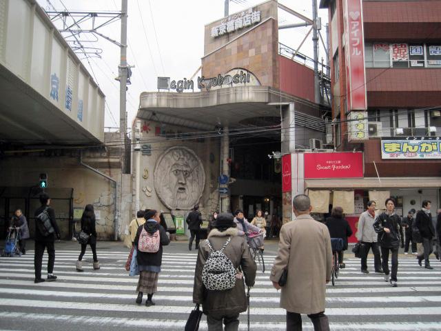 京橋にイタリアの「真実の口」が?・・・・: 日ぐらしの記