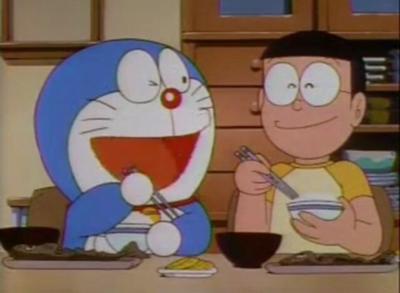 働かないで食べるご飯は美味しいかい?のび太くん - 食事へのボケ ...