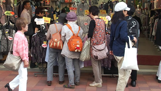 おばあちゃんの原宿@巣鴨とげぬき地蔵通り(2) - 東京のイベント
